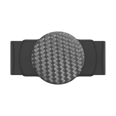 PopGrip Slide Stretch Carbonite Weave on Black with Square Edges